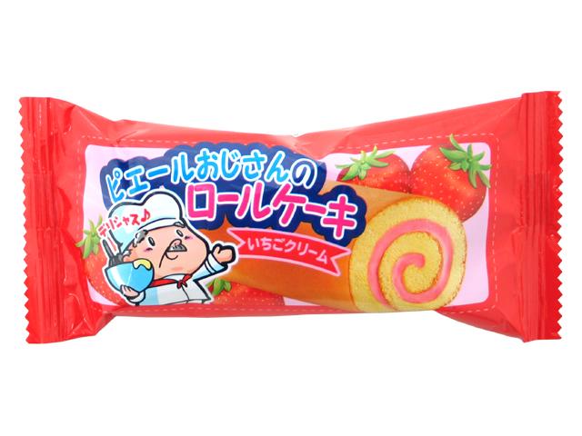 ロールケーキ イチゴクリーム味 No20(24入)