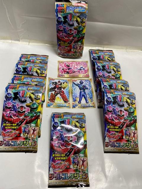 3枚入りキラメイジャーシールコレクション No100 (10袋入り1ロット)
