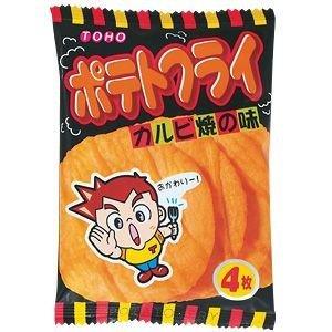 東豊ポテトフライ カルビ焼きの味(20袋入り)