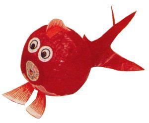 風物紙ふうせん 金魚(大)