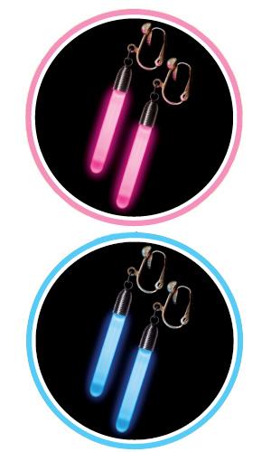光るイヤリング(ペア)24入り