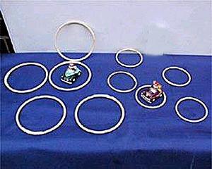 輪投げの輪