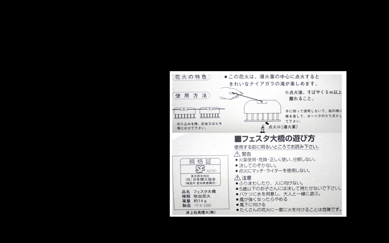 フェスタ大橋花火 300円