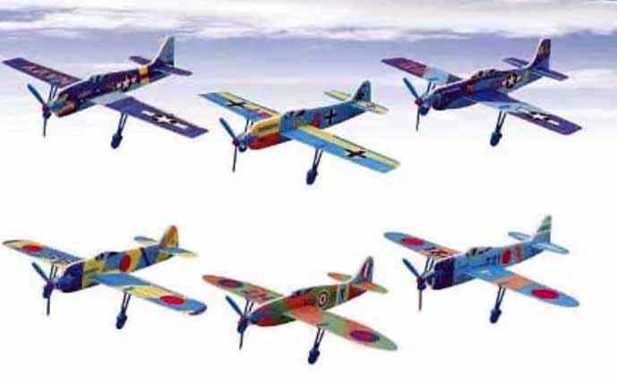 世界の戦闘機(24機入り)