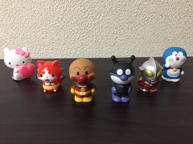 豆キャラクター人形